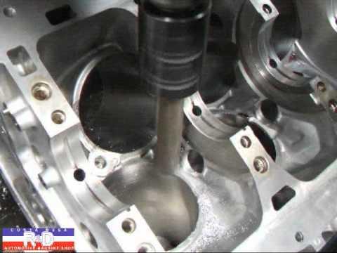 Nissan VQ 37 Block Clearancing for Stroker Crankshaft