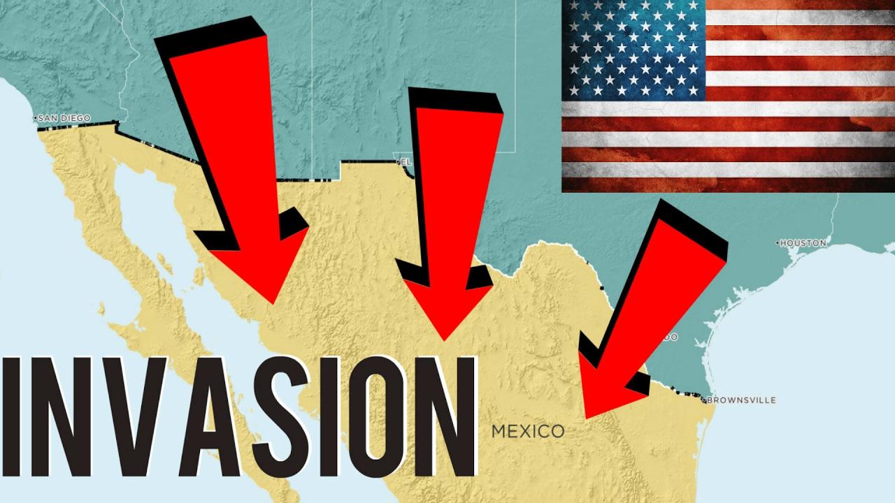 ¿Qué pasaría si Estados Unidos (Trump) invade México?