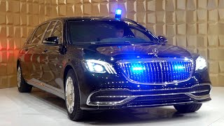 2020 Mercedes Maybach S600 Pullman GUARD - V12 Full Review Interior Exterior Security