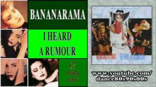 BANANARAMA - I Heard A Rumour (12