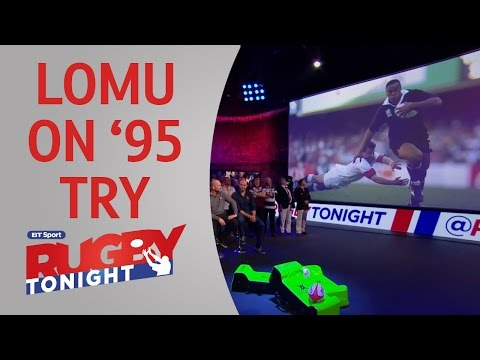 Jonah Lomu Reflects On 1995 Try Against England | Rugby Tonight