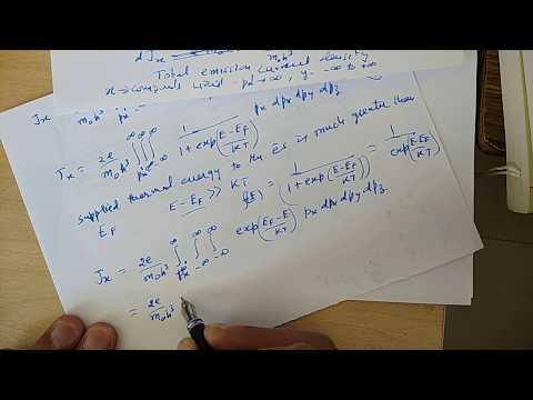 Richardson-Dushman Equation
