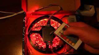 Светодиодная лента RGB(Готовый набор для подсветки потолка. Сайт http://led-lenta.ru., 2012-02-20T18:36:37.000Z)