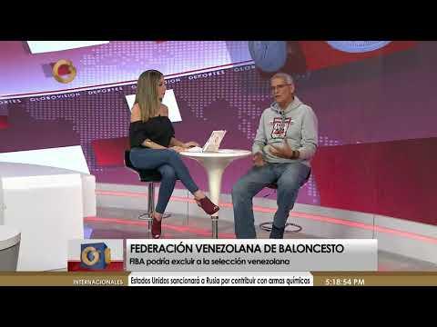 Globovisión Deportes | Polémica en el Baloncesto Venezolano y  Brundo D´Adezzio (Parte 2 de 3)