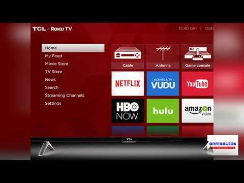 Televisión SMART TV TLC 32 ROKU 2017 español