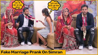 Fake Marriage Prank with Simran (Chik Chik Boom) | Funky Joker