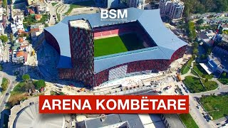 Gambar cover Stadiumi i ri Arena Kombëtare xhiruar me dron | Tirana - Albania [Drone video | 4K Ultra HD]