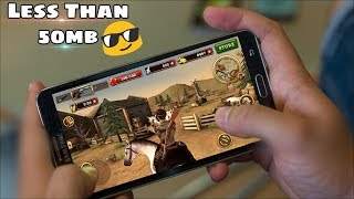 5 Awesome Android Games Under 50 MB only that You haven