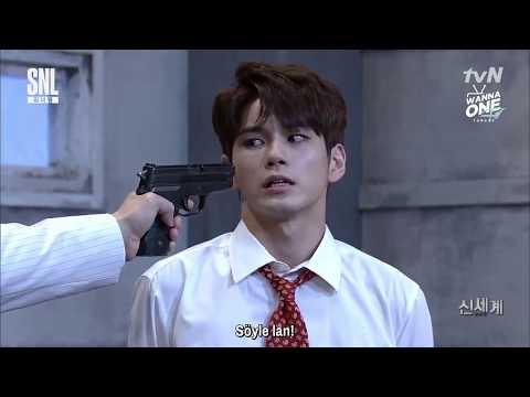 170819 Wanna One SNL Korea - Ong Seongwoo ve Park Jihoon'un New World Parodisi (Türkçe Altyazılı)