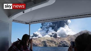 Many missing after New Zealand volcano eruption