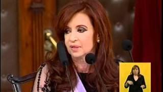Discurso completo de Cristina Fernández de Kirchner