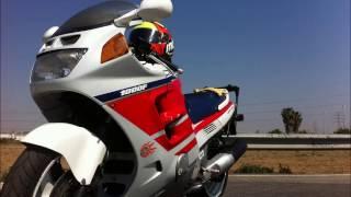 Pruebas  gopro Honda CBR1000F