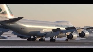 Cathay Pacific Airways Cargo Boeing 747-8 (B-LJH) Landing at Chicago O