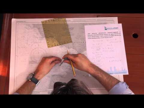 Cálculo de la situación por líneas de posición / Ejercicio 7.1 [Escola Port Barcelona]