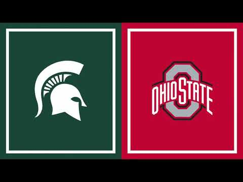 Ohio State at Michigan State Spartans | B1G Basketball | First Half Highlights