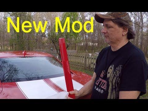 Download Extreme Spoiler window spoiler install on my 2012 2SS Chevy Camaro       #IamACreator