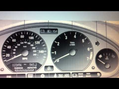 BMW Z3 Dashboard Warning Lights & Symbols - What They Mean Here