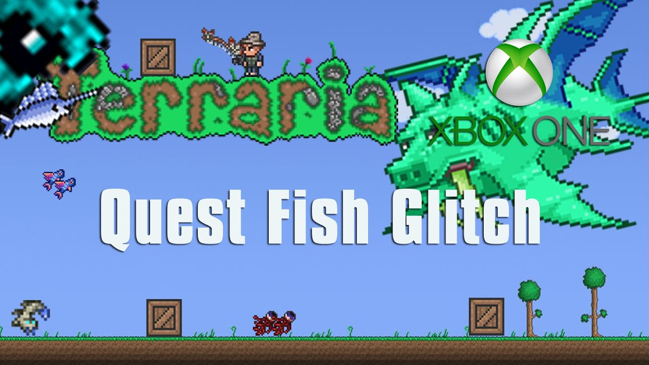Terraria Xbox One Let 39 S Play Quest Fish Glitch 55