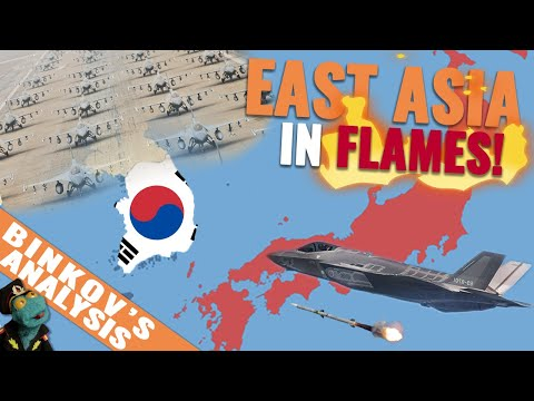 Could South Korea win a war against Japan? (2019)