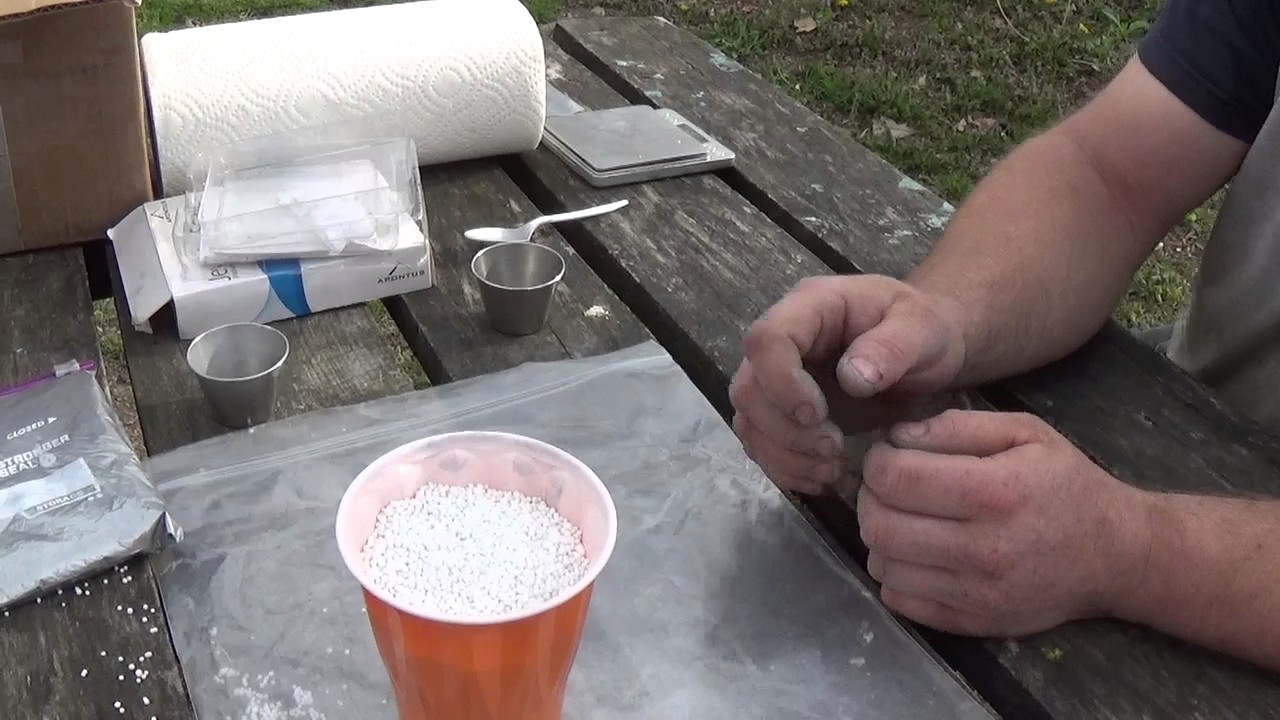 how to make tannerite at home