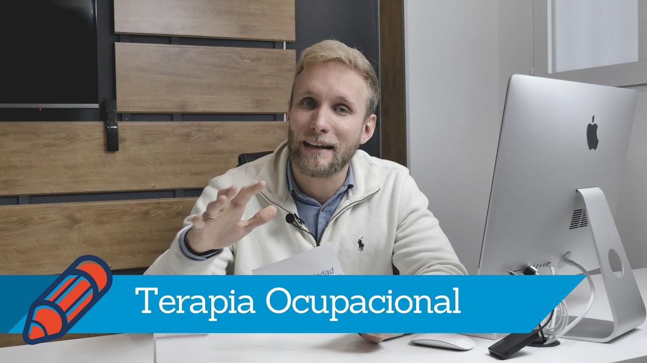 Terapia Ocupacional para la Ansiedad - YouTube