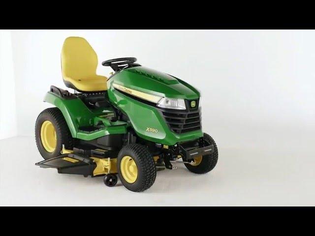 The John Deere X590 Lawn Tractor