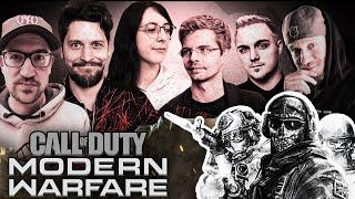 RBTV vs DoktorFroid | CoD: Modern Warfare mit Kiara, Simon & Schröck vs Frodo, asmoogl & powlster