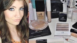 e.l.f. Cosmetics One Brand Makeup Tutorial