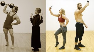 Evolution of Fitness | 100 Year History of Gym Culture, Fashion & Fails