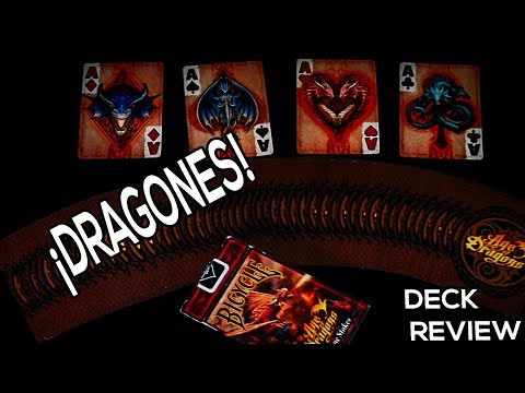 Deck Review #11 - Bicycle Age Of Dragons (Anne Stokes) // DAVe
