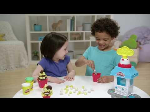 Play-Doh Popcorn Party Play Food Set - Smyths Toys