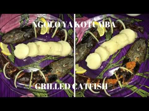 NGOLO ya Kotumba-Grilled Catfish