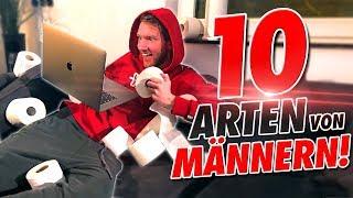 10 ARTEN VON MÄNNERN!