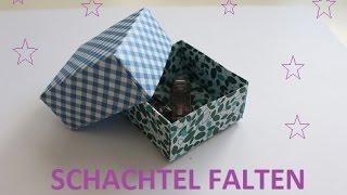 Easy DIY - PAPIERSCHACHTEL falten / Für kleine Geschenke