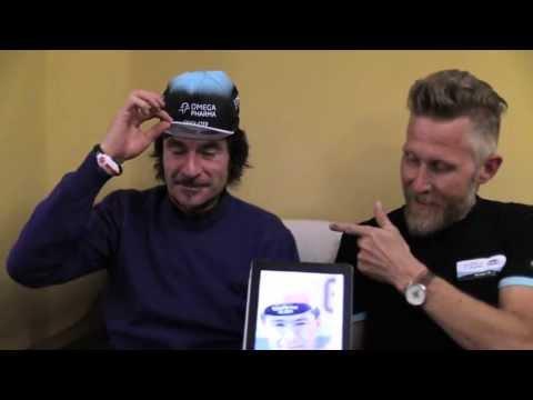 """#OPQSGiro: Gianni Bugno """"How to Wear a Cycling Cap"""" FULL video"""