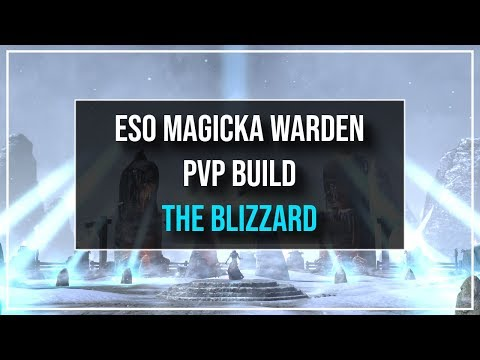 ESO Magicka Warden PvP Build - The Blizzard - Murkmire Patch