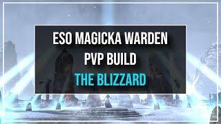 ESO Magicka Warden PvP Build - The Blizzard - Murkmire Patch