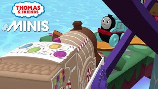 Thomas and Friends Minis - Candy Emily and Classic Thomas 2021 Train Track! ★ iOS/Android (by Budge)