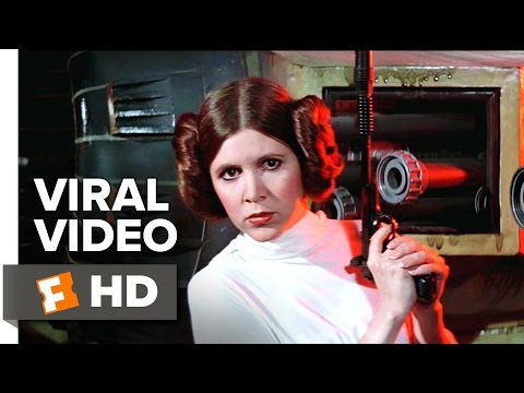 A Tribute To Carrie Fisher (2017) - Star Wars Viral Video | Movieclips Coming Soon