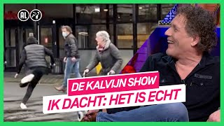 Kalvijn prankt Kees van der Spek met nepoverval | De Kalvijn Show #3 | NPO 3 TV