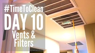 DAY 10 CLEANING SCHEDULE // #TIMETOCLEAN CHALLENGE // SPEED CLEANING ROUTINE