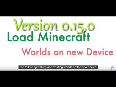 minecraft pe ipad backup