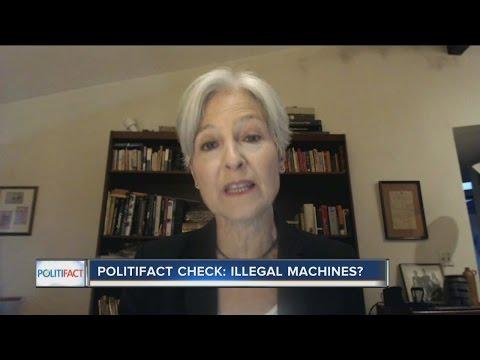 PolitiFact Wisconsin: Illegal machines?