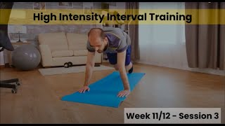 HIIT - Week 11/12 Session 3 (Control)