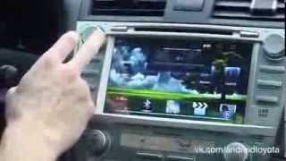 Toyota Camry V40 android. установка мультимедийной системы на андроиде