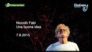 Una buona idea - Niccolò Fabi dal vivo