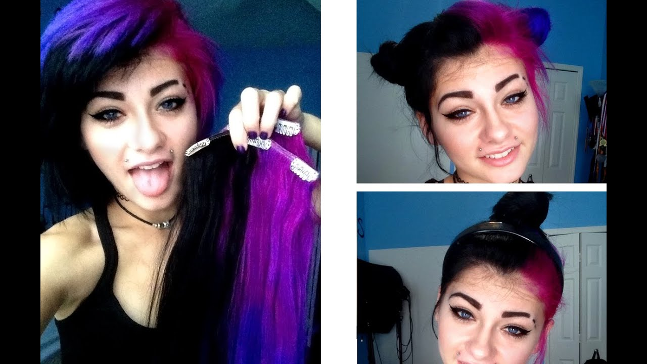 Up Dos For Short Hair And Extensions Heythereimshannon Youtube