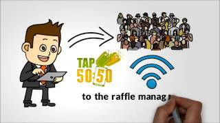 how does an electronic raffle work