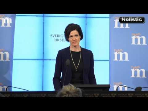 M vill samarbeta med SD: Pressträff Anna Kinberg Batra 2017-01-19