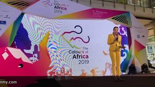 พิธีกรภาษาอังกฤษ-ไทย สองภาษา Bilingual (MC) งาน Colours of Africa2 2019